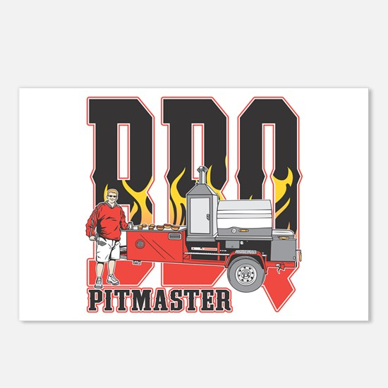 BBQ Pit master Postcards (Package of 8)
