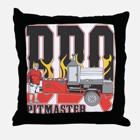BBQ Pit master Throw Pillow