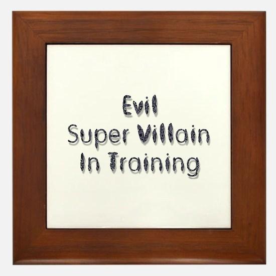 Super Villain Framed Tile