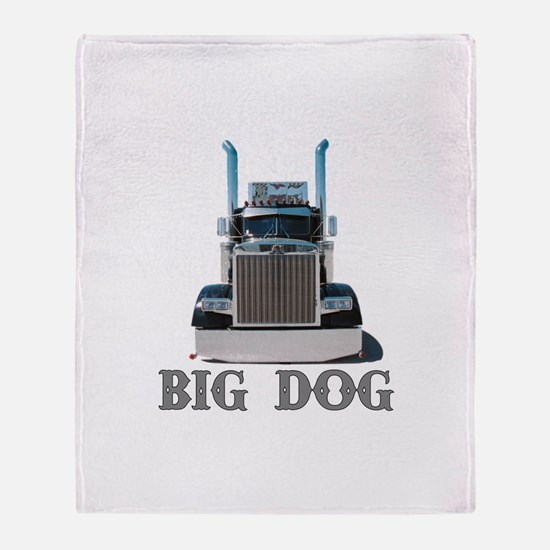 Big Dog Throw Blanket