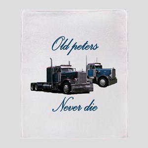 Old Peter Never Die Throw Blanket