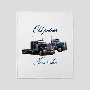 Old Peter Never Die Throw Blanket
