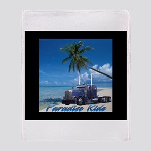 Paradise Ride Throw Blanket