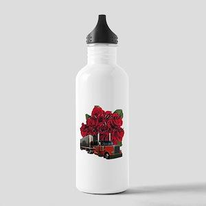 18 Wheels & A Dozen Roses Stainless Water Bott