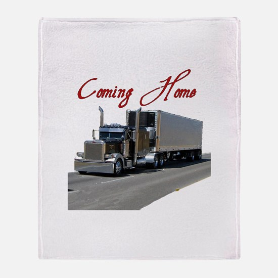 Coming Home Throw Blanket