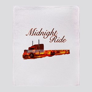 Midnight Ride Throw Blanket