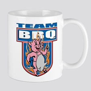 Team Pork BBQ Mug