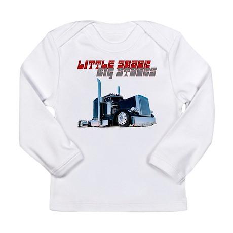 Little Shack Big Stacks Long Sleeve Infant T-Shirt