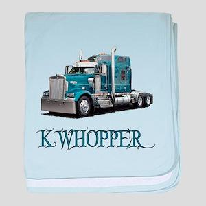 K Whopper baby blanket