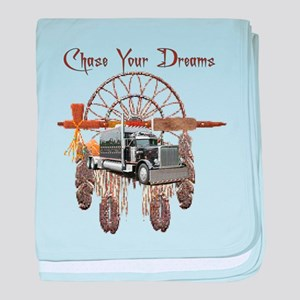 Chase Your Dreams baby blanket