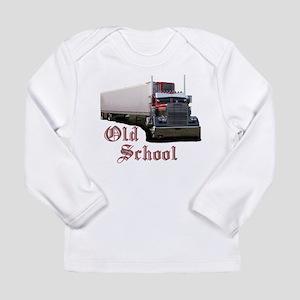 Old School Long Sleeve Infant T-Shirt
