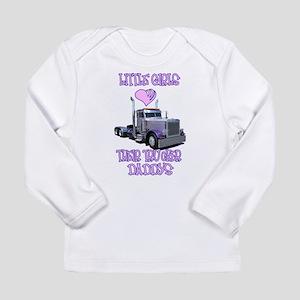 Little Girls Love Their Littl Long Sleeve Infant T