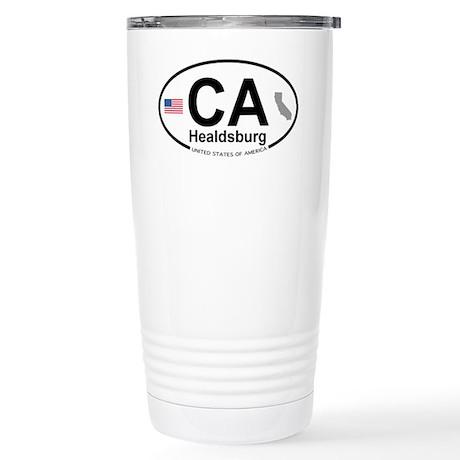 Healdsburg Stainless Steel Travel Mug