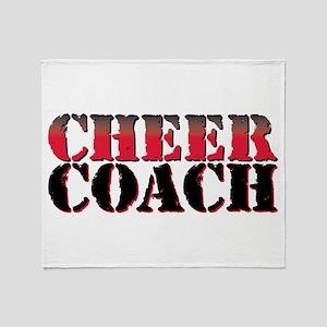 Cheer Coach Throw Blanket