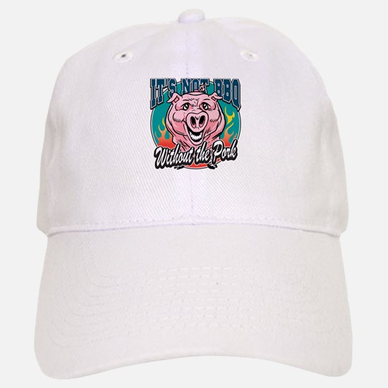 BBQ Pork Baseball Baseball Cap