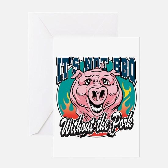 BBQ Pork Greeting Card