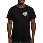 Circle Logo Men's Fitted T-Shirt (dark)