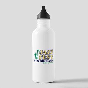 Jazz Fest NOLA sax Stainless Water Bottle 1.0L
