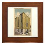 Mayflower Hotel Framed Tile