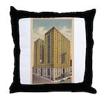 Mayflower Hotel Throw Pillow