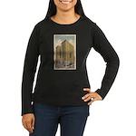Mayflower Hotel Women's Long Sleeve Dark T-Shirt