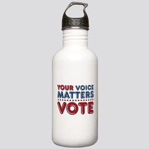 Your Voice Matters Stainless Water Bottle 1.0L