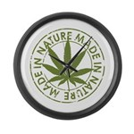 Made in Nature Large Wall Clock