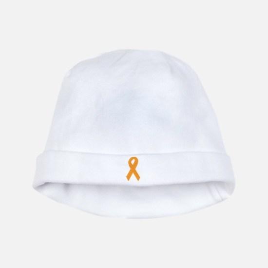 Orange Aware Ribbon baby hat