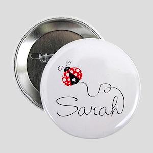 """Ladybug Sarah 2.25"""" Button"""
