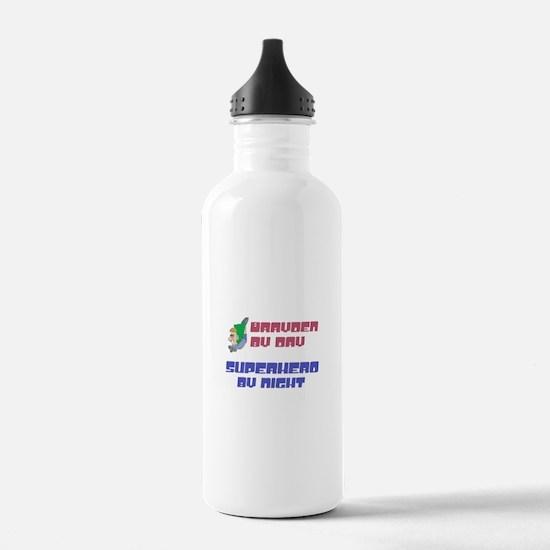 Super Hero Brayden Water Bottle