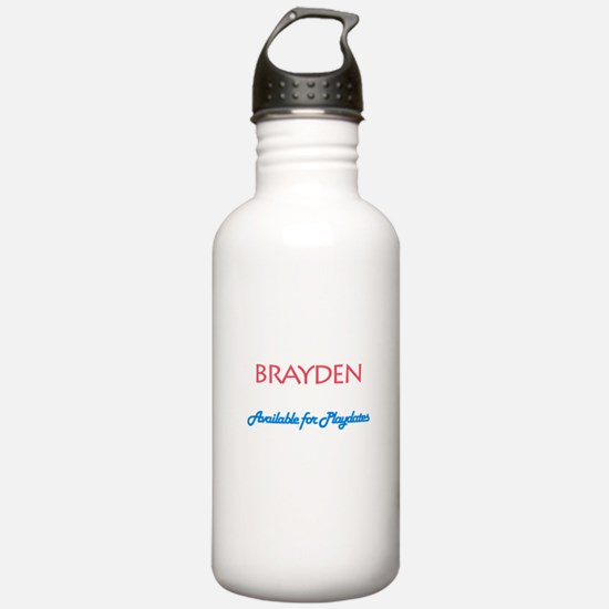Brayden - Available for Playd Water Bottle