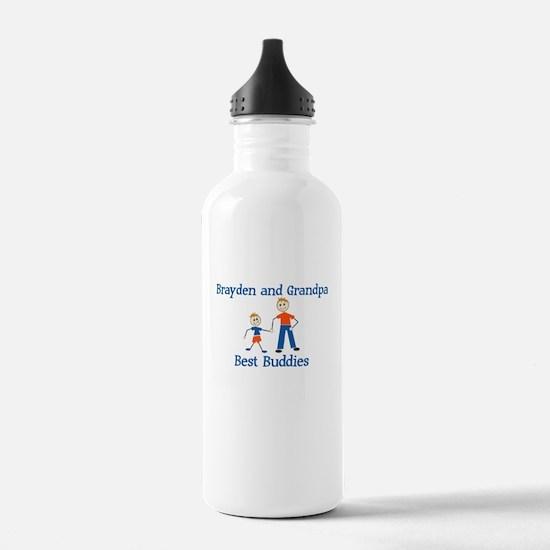 Brayden & Grandpa - Best Budd Water Bottle