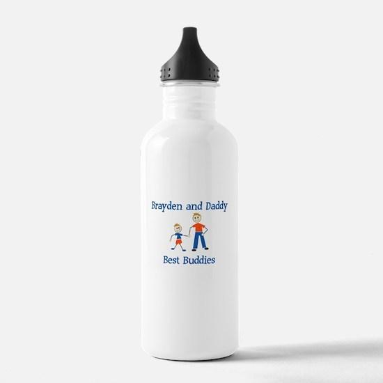 Brayden & Daddy - Best Buddie Water Bottle