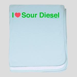 Heart Sour Diesel baby blanket