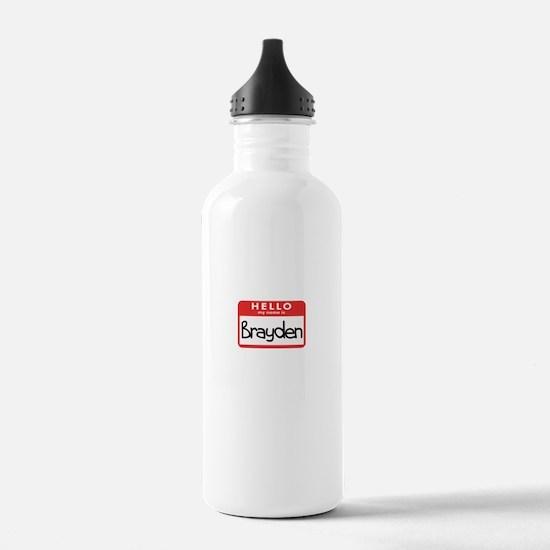 Hello Brayden Water Bottle