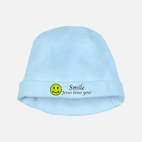 Smile Jesus baby hat