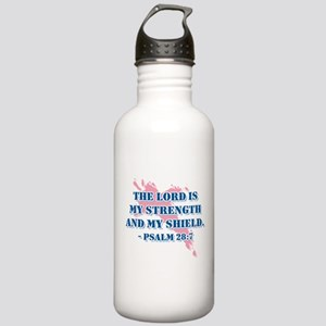 Psalm 28:7 Stainless Water Bottle 1.0L