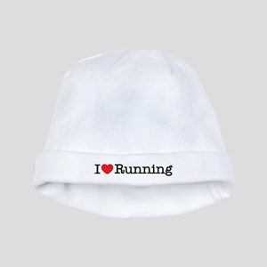 I Love Running baby hat