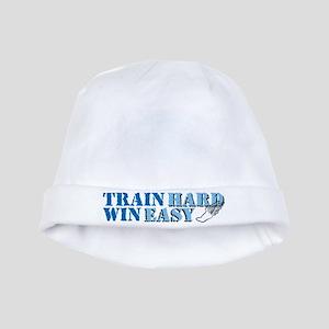Train Hard - Track baby hat