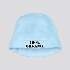 100% organic baby hat