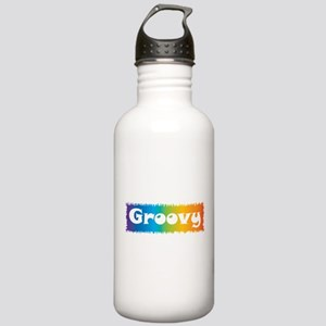 Groovy cl block Stainless Water Bottle 1.0L