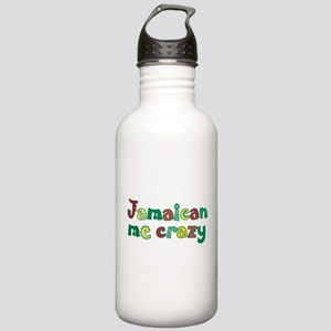 Jamaican Me Crazy Stainless Water Bottle 1.0L