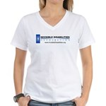 Invisible Disabilities Associ Women's V-Neck T-Shi