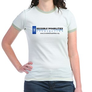 09f74dcb8 Invisible Disability Junior Ringer Tees - CafePress