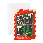 Christians Only! Greeting Cards (Pk of 10)