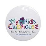 My Kids Clubhouse Ornament (Round)