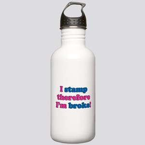 I Stamp Stainless Water Bottle 1.0L
