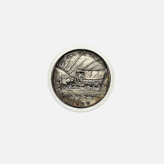 Oregon Trail Reverse Mini Button