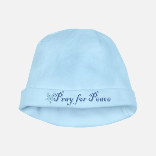 Pray for Peace baby hat