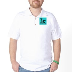 Knittylove [aqua] Golf Shirt